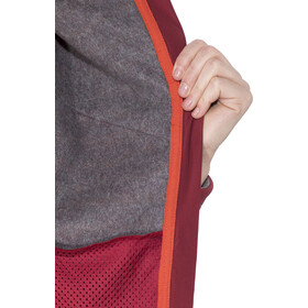 Edelrid Creek Giacca in pile Donna, vine red